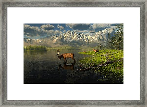 Echoes Of A Lost Frontier Framed Print