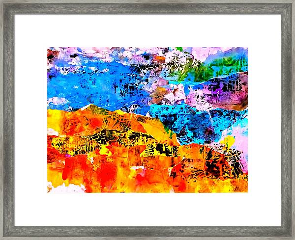 Echoes Of Eternity Framed Print