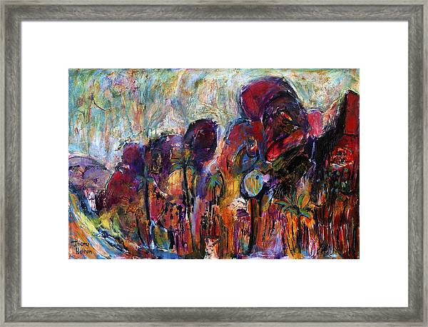 Echoes Of The Day Framed Print