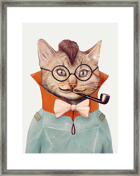 Eclectic Cat Framed Print