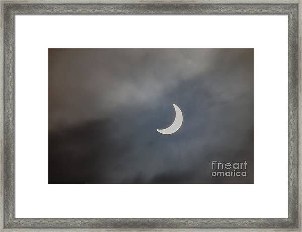 Eclipse 2015 - 2 Framed Print