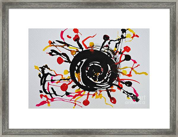 Eclipse Of The Sun Framed Print