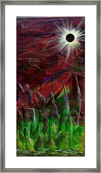 Eclpise II Framed Print