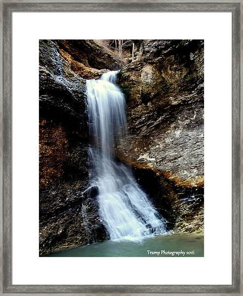 Eden Falls Framed Print