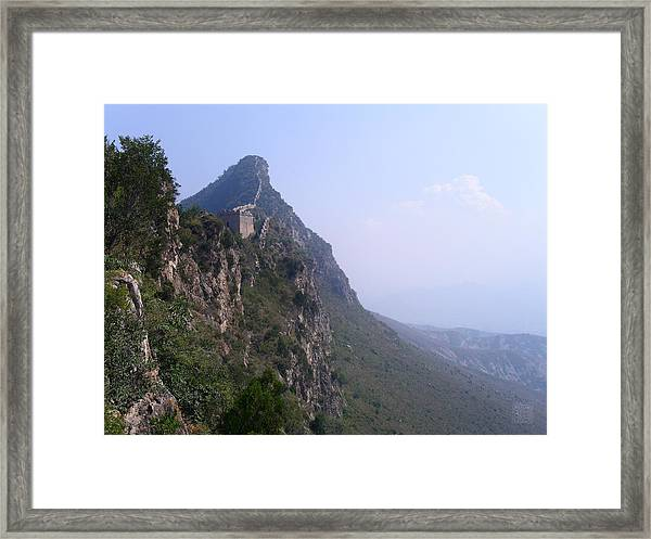 Edge Of The World Framed Print