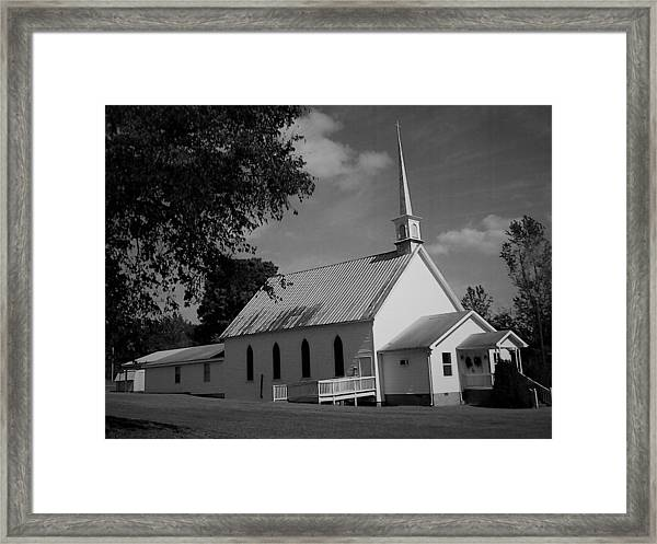 Edgewood Church Framed Print