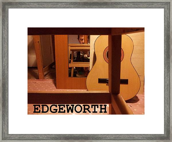 Edgeworth Acoustic Guitar Framed Print