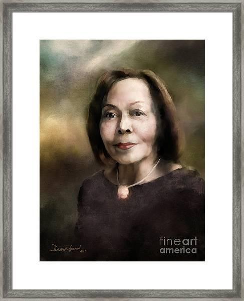 Edith G. Framed Print