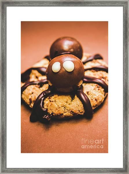 Eerie Monsters. Halloween Baking Treat Framed Print