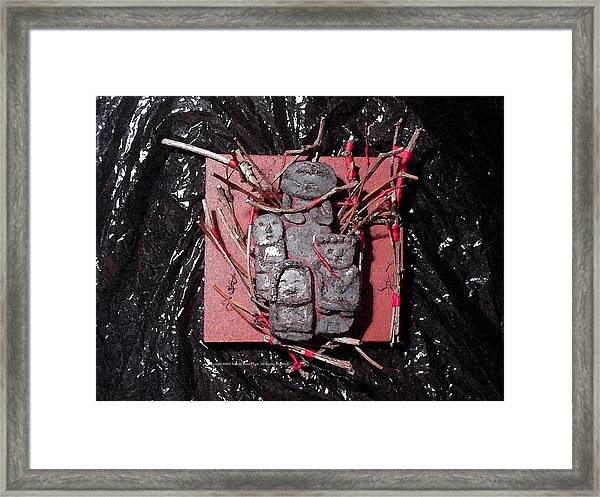 Effigies Framed Print