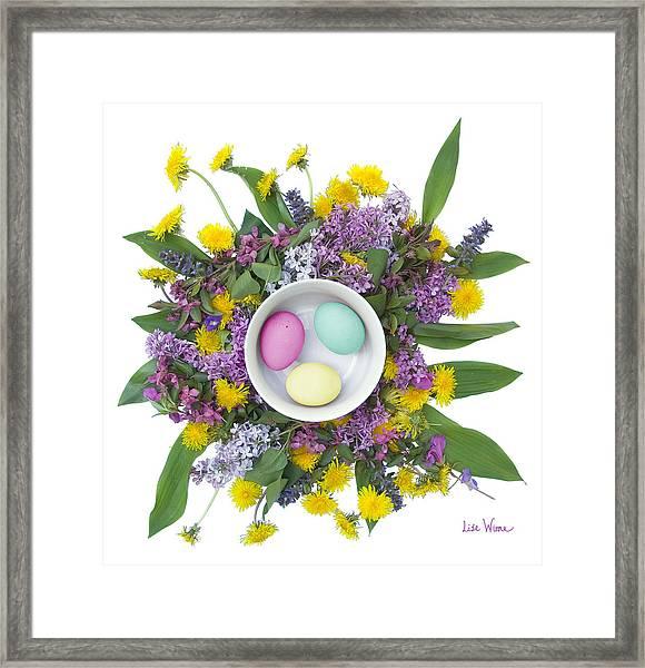 Eggs In A Bowl Framed Print