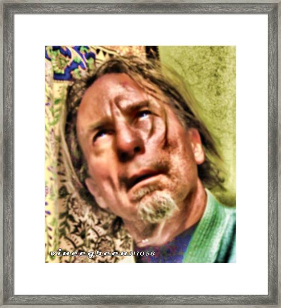 Ego As Tormentor Framed Print