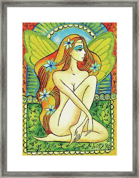 Egyptian Fairy I Framed Print