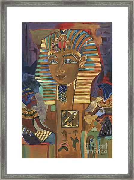 Egyptian Man Framed Print