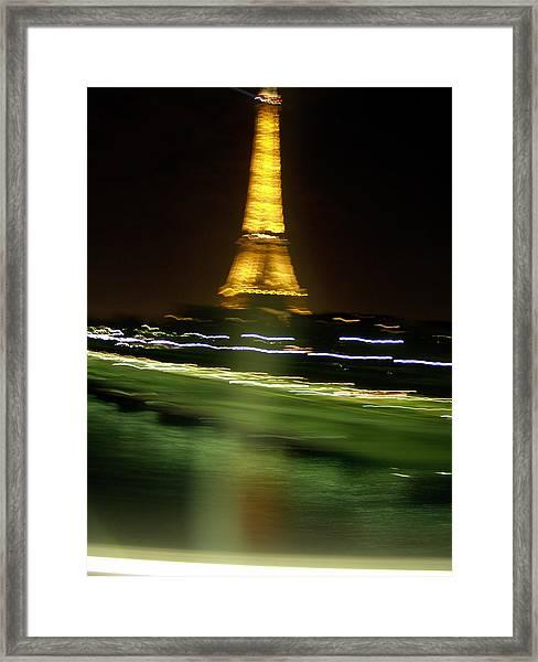 Eiffel Moves Framed Print