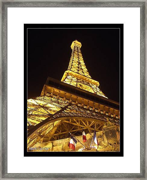 Eiffel Tall Framed Print