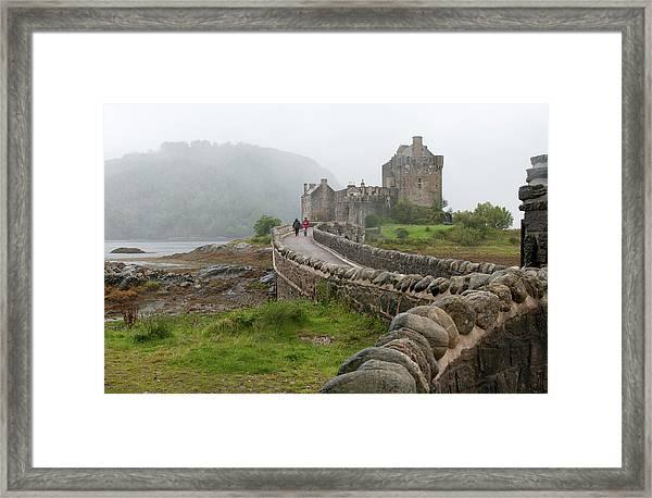 Eilean Donan Castle In The Highlands Of Scotland  Framed Print