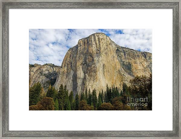 El Cap #2 Framed Print