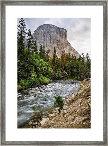 El Cap #3 Framed Print