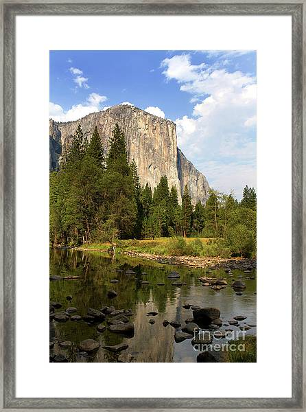 El Capitan Yosemite National Park California Framed Print