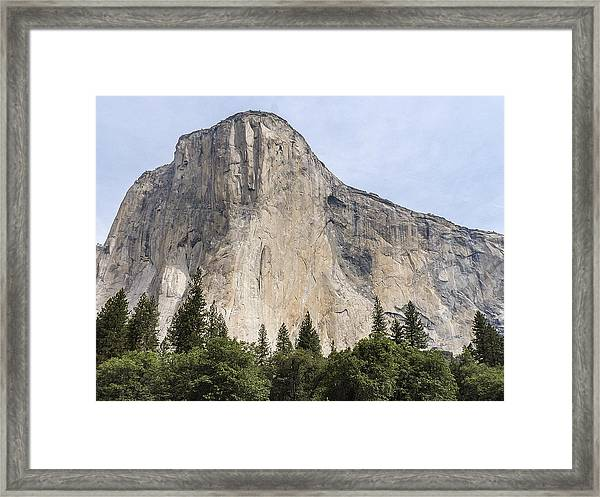 El Capitan Yosemite Valley Yosemite National Park Framed Print