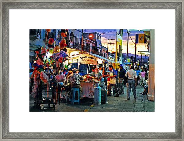Framed Print featuring the photograph El Flamazo by Skip Hunt