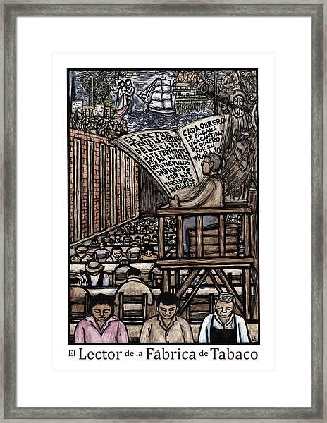 El Lector Framed Print by Ricardo Levins Morales