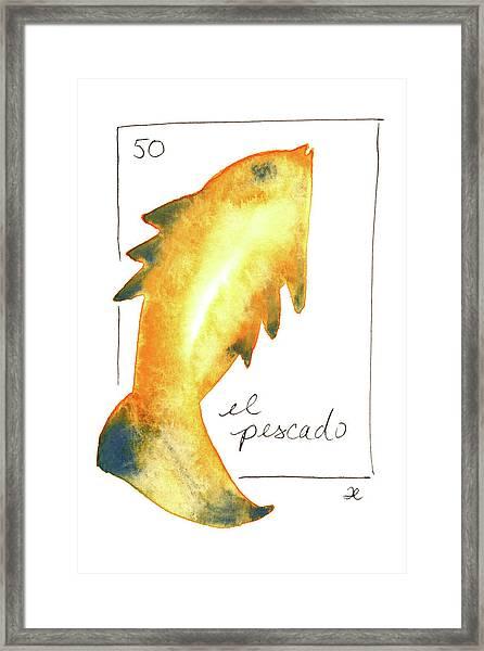 El Pescado Framed Print