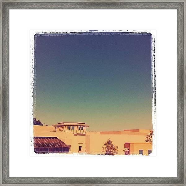 El Pueblo De Palos Verdes Framed Print
