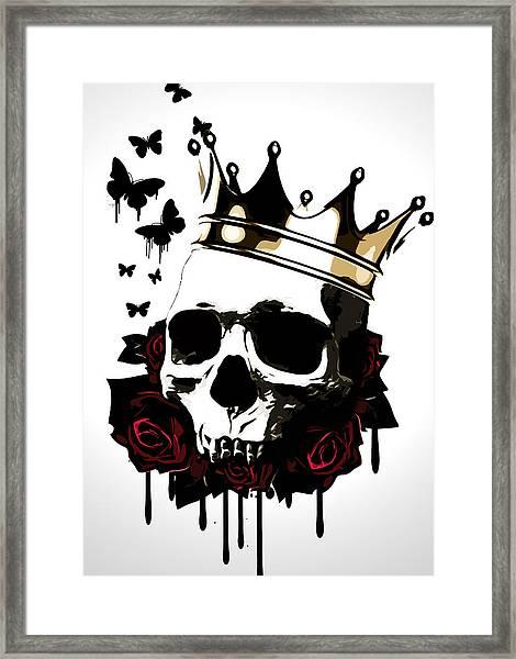 El Rey De La Muerte Framed Print
