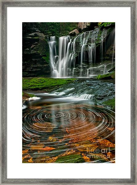 Elakala Fall #1 D30010326 Framed Print