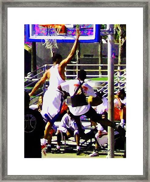 Foul Framed Print