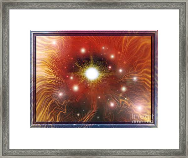Electra Of Raa Framed Print