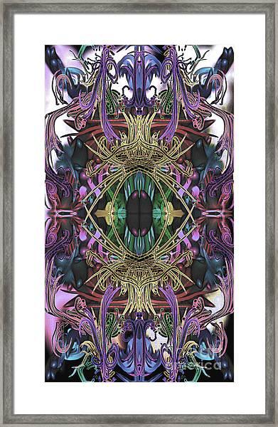 Electric Eye 2 Framed Print