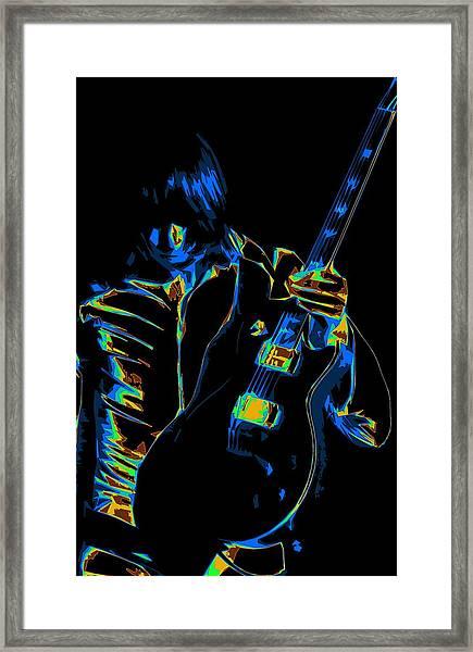 Electric Scholz Framed Print
