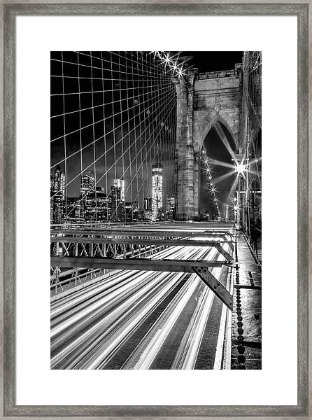 Electrify Framed Print