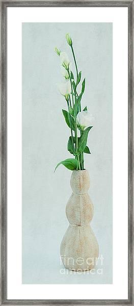 Elegant Lisianthus Framed Print