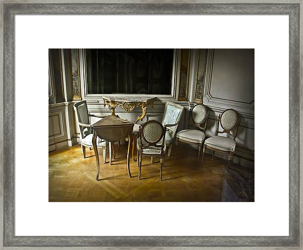Framed Print featuring the photograph Elegent Disarray by Williams-Cairns Photography LLC
