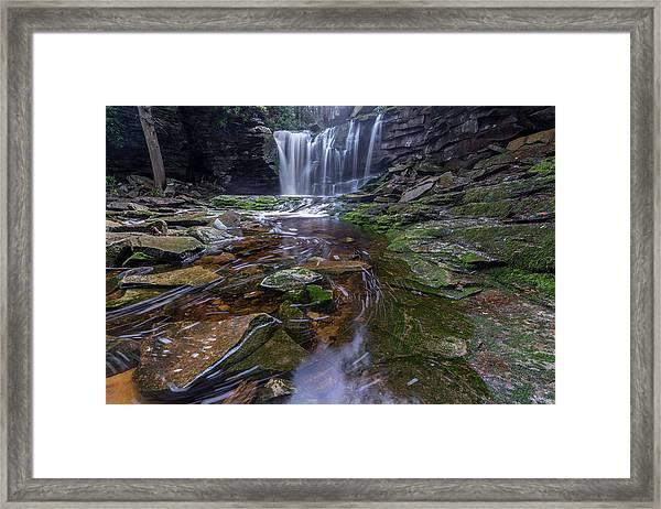 Elekala Falls Framed Print by Michael Donahue