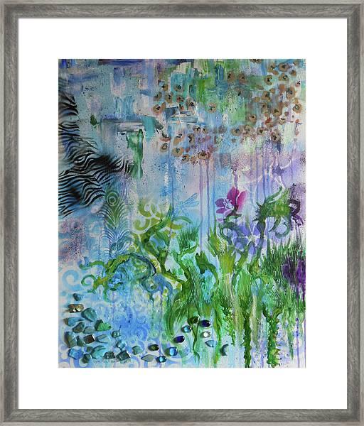 Elements Of Nature Framed Print