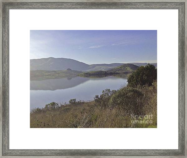 Elephant Hill In Mist Framed Print