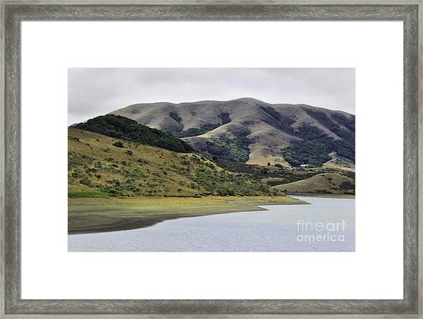 Elephant Hill Framed Print