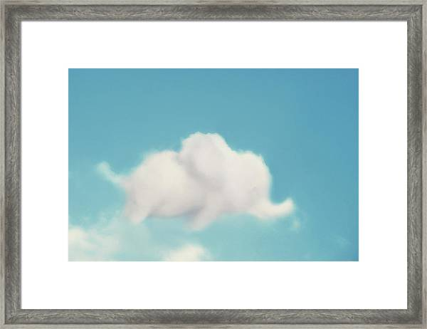 Elephant In The Sky Framed Print