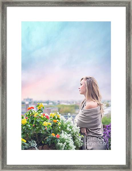 Elevate Your Senses Framed Print