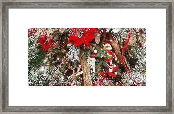 Elf In A Tree Framed Print