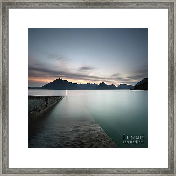 Elgol At Sunset Framed Print