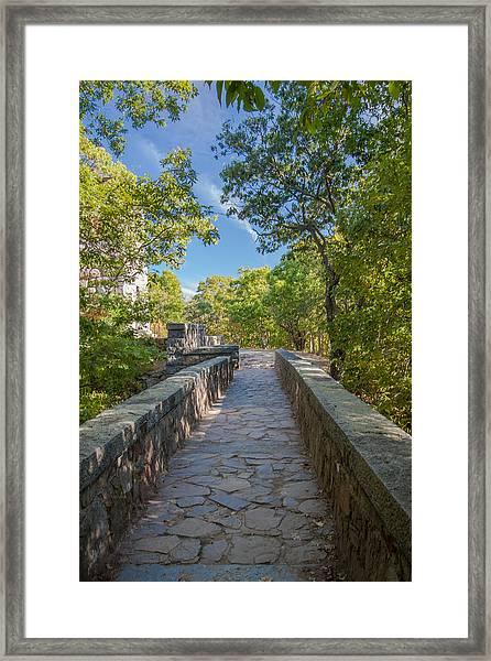 Eliot Memorial Bridge Framed Print