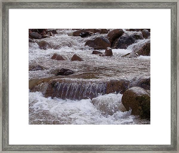 Ellenville Waterfall Framed Print