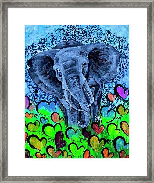 Elley  Framed Print