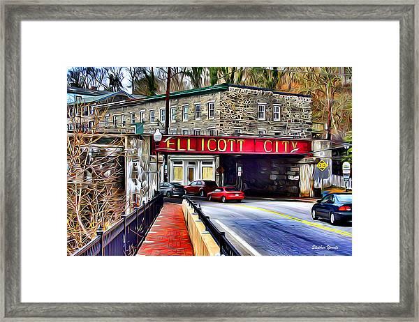 Ellicott City Framed Print